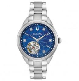BULOVA 96P191 Women's Classic Automatic Diamond Watch