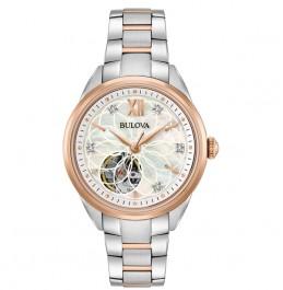 BULOVA 98P170 Women's Classic Automatic Diamond Watch