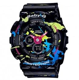 Baby-G Splatter Pattern - BA120SPL-1A
