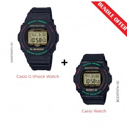 CASIO - G-SHOCK - PAIR (DW5700TH-1D With BGD570TH-1D)-V3