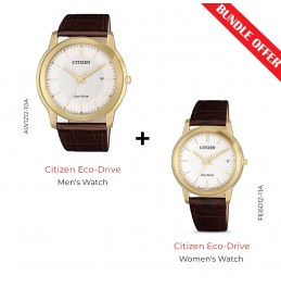 CITIZEN ECO-DRIVE STANDARD -  (AW1212-10A With FE6012-11A)-V2