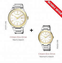 CITIZEN ECO-DRIVE STANDARD -  (AW1374-51B With FE6024-55B)-V2