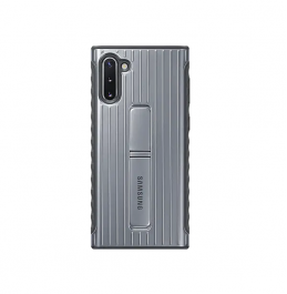 Samsung Galaxy Note10 Protective Standing Cover Silver