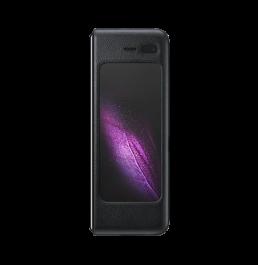 Samsung Galaxy Fold Leather Cover EF-VF900LBEGWW Black Color