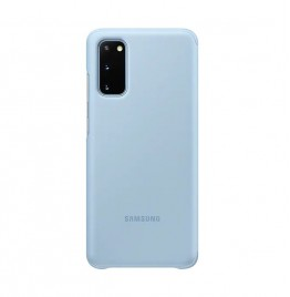 S20Clear View Cover Blue