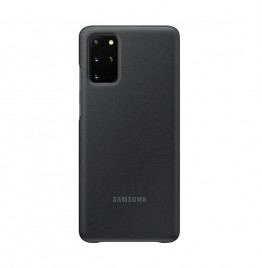 S20+Clear View Cover Black