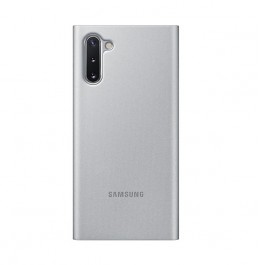 Note 10 Clear view cover Silver
