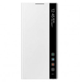 Note 10 Clear view cover White