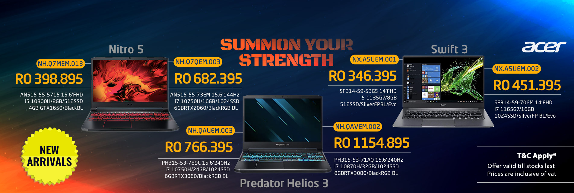 Acer Laptop new arrival 2