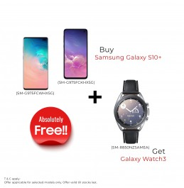 Samsung Galaxy S10+ SM-G975FCKHXSG Black Color