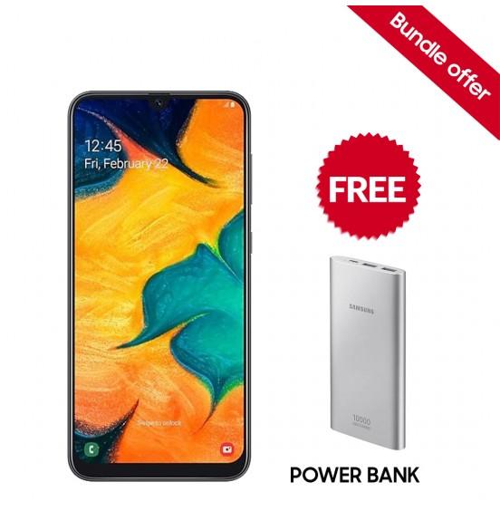 Samsung Galaxy A30 SM-A305FZWFXSG White-Color