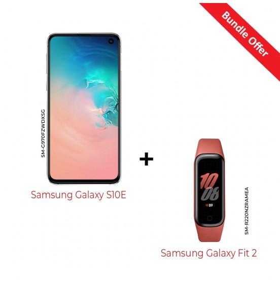 Samsung Galaxy S10E + Galaxy Fit2 SM-G970FZW-R220